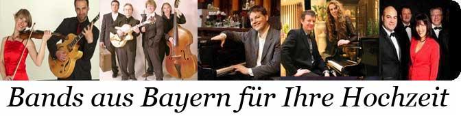 Hochzeitsbands in Bayern